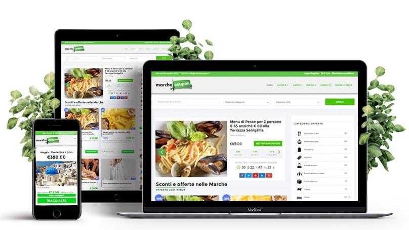 siti web nelle marche
