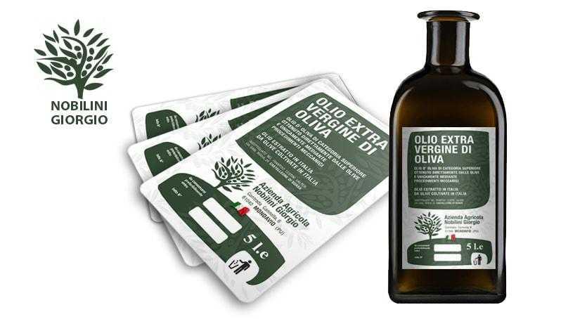 etichette olio mondolfo