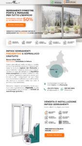 realizzazione landing-page Ancona