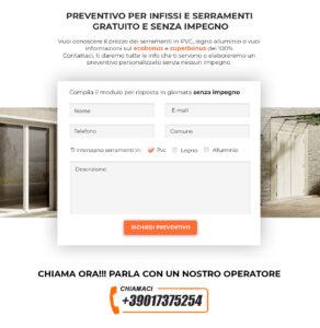 realizzazione landing-page Pesaro